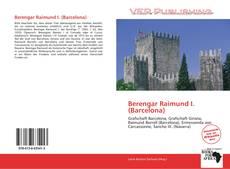 Обложка Berengar Raimund I. (Barcelona)