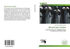 Bookcover of Berard von Carbio