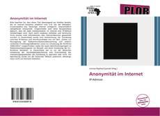 Обложка Anonymität im Internet