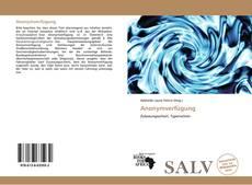 Bookcover of Anonymverfügung