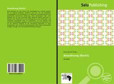 Bookcover of Anordnung (Recht)