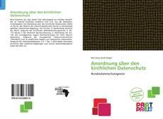 Capa do livro de Anordnung über den kirchlichen Datenschutz