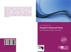 Bookcover of People'S National Party