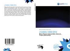 Couverture de (14383) 1990 OY3