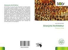 Buchcover von Anonyme Architektur
