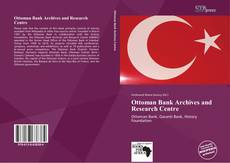 Ottoman Bank Archives and Research Centre kitap kapağı