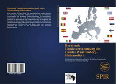 Capa do livro de Beratende Landesversammlung des Landes Württemberg-Hohenzollern