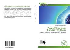 People'S Insurance Company Of China kitap kapağı