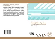 Bookcover of Naturopathic Physicians Licensing Examinations