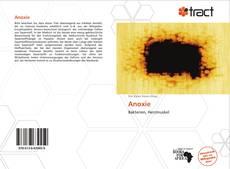 Capa do livro de Anoxie