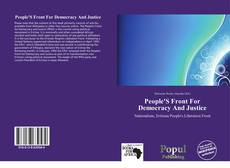 Portada del libro de People'S Front For Democracy And Justice