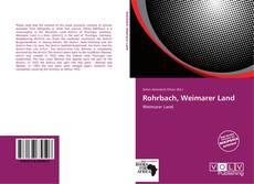 Borítókép a  Rohrbach, Weimarer Land - hoz