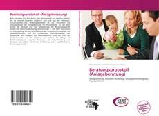Buchcover von Beratungsprotokoll (Anlageberatung)