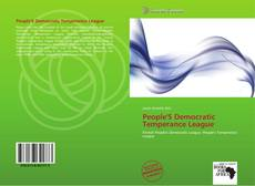 People'S Democratic Temperance League的封面