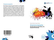 Bookcover of Anpassungsgüte