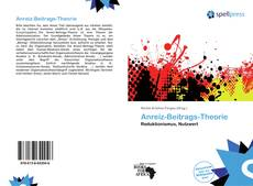 Bookcover of Anreiz-Beitrags-Theorie