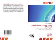 Bookcover of People'S Democratic Party (Ukraine)