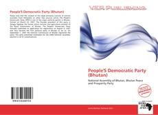 Borítókép a  People'S Democratic Party (Bhutan) - hoz