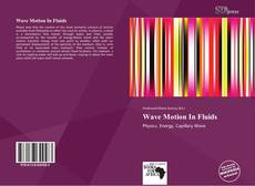 Couverture de Wave Motion In Fluids