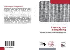 Buchcover von Anschlag von Ebergassing