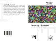 Portada del libro de Anschlag (Klavier)