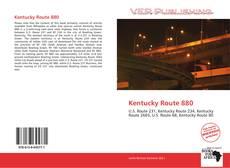 Buchcover von Kentucky Route 880