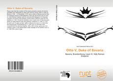 Portada del libro de Otto V, Duke of Bavaria