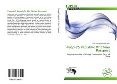 Bookcover of People'S Republic Of China Passport