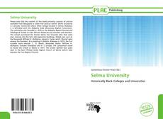 Bookcover of Selma University