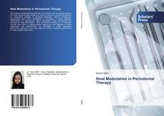 Bookcover of Host Modulation in Periodontal Therapy