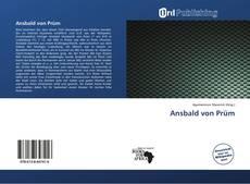 Capa do livro de Ansbald von Prüm