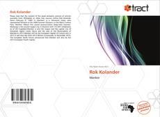 Buchcover von Rok Kolander