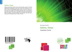 Bookcover of Selma, Texas