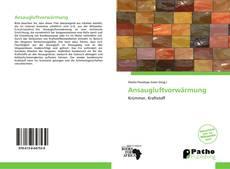 Bookcover of Ansaugluftvorwärmung