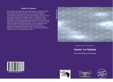 Bookcover of Ansar as-Sunna