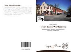 Bookcover of Wehr, Baden-Württemberg