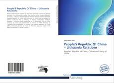 Copertina di People'S Republic Of China – Lithuania Relations