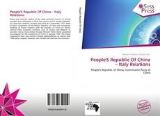 Copertina di People'S Republic Of China – Italy Relations