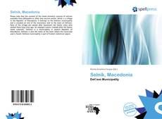 Bookcover of Selnik, Macedonia