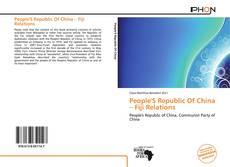 Copertina di People'S Republic Of China – Fiji Relations