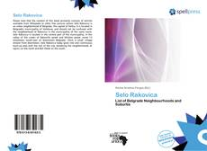 Bookcover of Selo Rakovica