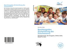 Portada del libro de Berchtesgaden (Entwicklung des Schulwesens)