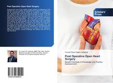Bookcover of Post Operative Open Heart Surgery