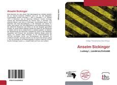 Buchcover von Anselm Sickinger