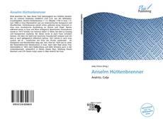 Buchcover von Anselm Hüttenbrenner