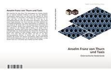 Borítókép a  Anselm Franz von Thurn und Taxis - hoz