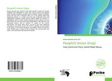 Bookcover of People'S Union (Iraq)