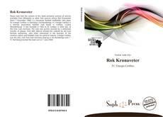 Capa do livro de Rok Kronaveter