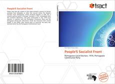 Bookcover of People'S Socialist Front