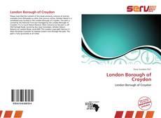 London Borough of Croydon kitap kapağı